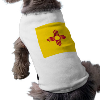 Pet Clothing with Flag of New Mexico, USA