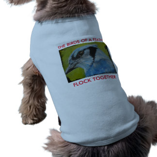 Pet Collection - Blue Jay Shirt for Dogs Sleeveless Dog Shirt