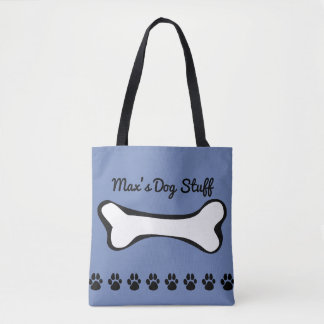 Pet Dog Toys and Accessories Tote Bag