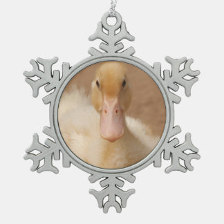 Pet Duck Snowflake Ornament
