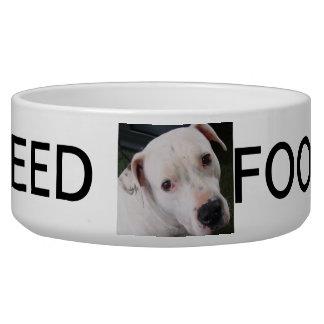 Pet Food/Water Bowl...Pitbull Dog Food Bowls