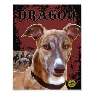 Pet Greyhound Print