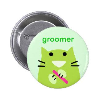 Pet Groomer 6 Cm Round Badge