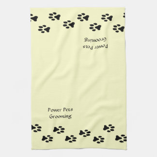 Pet Groomer Personalized Towel