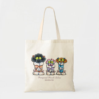 Pet Groomer Spa Dogs Personalised Business Tote Bag