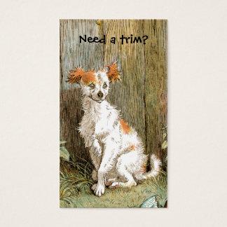 Pet Grooming or Pet Spa Business Card