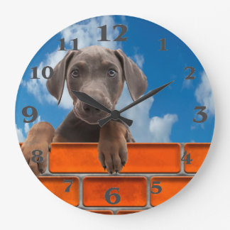 Pet image for Round-Large-Wall-Clock Large Clock