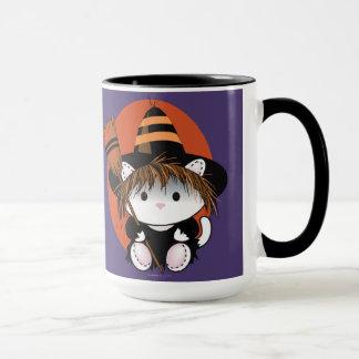 PET LITTLE WITCH Ringer Mug