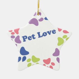 Pet Love Christmas Tree Ornaments