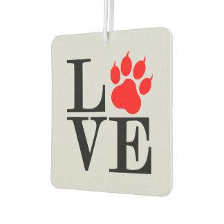 Pet Lover Paw Car Air Freshener