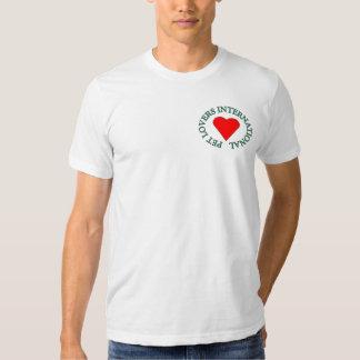 PET LOVERS INTERNATIONAL TSHIRTS