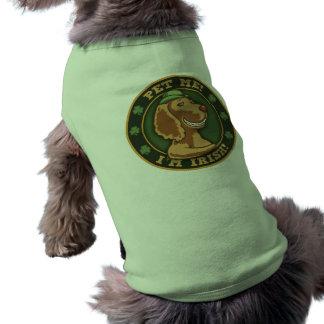 Pet Me! I'm Irish Dog T Shirt