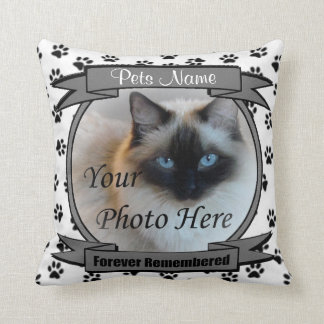 Pet Memorial - Forever Remembered Keepsake Cushion