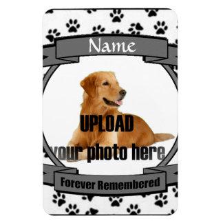 Pet Memorial -Forever Remembered Vinyl Magnet