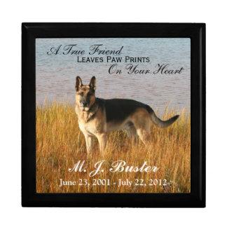 Pet Memorial Photo Memento Box