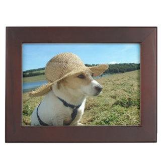 Pet memorial photo personalised keepsake box