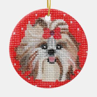 Pet Ornaments  - Shih Tzu