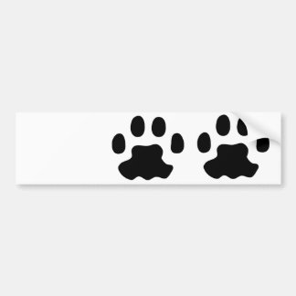 pet paws bumper sticker
