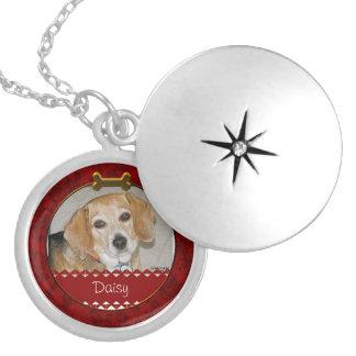 Pet Photo Locket Necklace