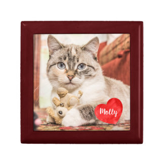 Pet Photo Memorial - Add Your Photo - Dog Photo Gift Box