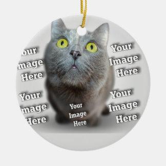 Pet Photo Template Christmas Ornaments
