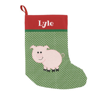Pet Pig Personalized Stocking