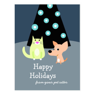 Pet Professional Holiday Card