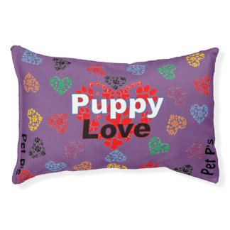Pet P's Paw Hearts *Puppy Love Collection* Pet Bed