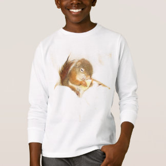 Pet red squirrel, Bluster, T-shirt