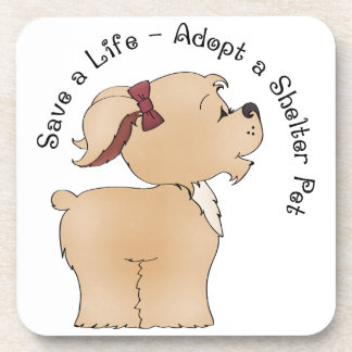 Pet Rescue Drink Coasters