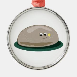 Pet Rock Christmas Ornament