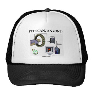 PET Scan, Anyone? (Positron Emission Tomography) Mesh Hats