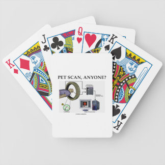PET Scan, Anyone? (Positron Emission Tomography) Playing Cards