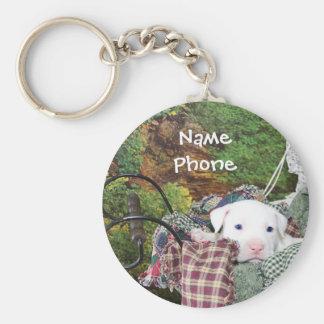 Pet Service Advertising Key Ring