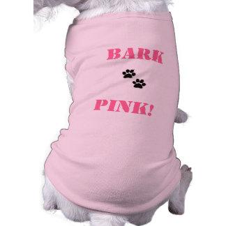 pet shirt    BarkPink!