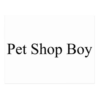 Pet Shop Postcard
