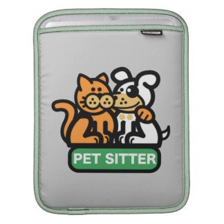 Pet Sitter (Cat & Dog) Sleeve For iPads