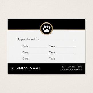 Pet Sitter Pet Salon Modern Paw Logo Appointment