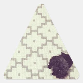 Pet Sitter Triangle Sticker