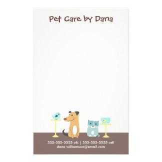 Pet Sitter's Business 14 Cm X 21.5 Cm Flyer