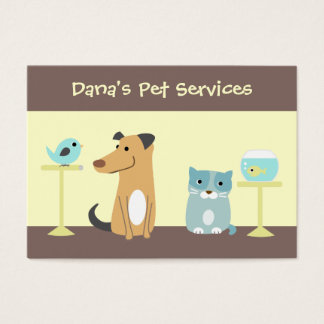 Pet Sitter's Business Card