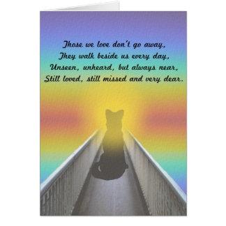 Pet Sympathy Card - Dog
