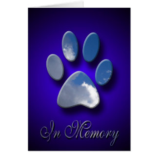 Pet Sympathy Card Dog Sympathy Cat Sympathy