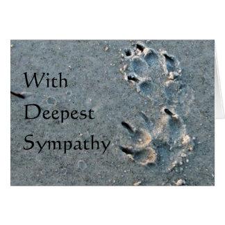 Pet Sympathy - Dog Card
