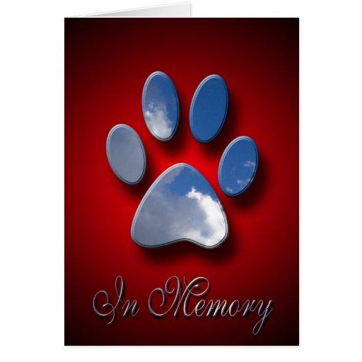 Pet Sympathy Greeting Cards | Loss Of Pet