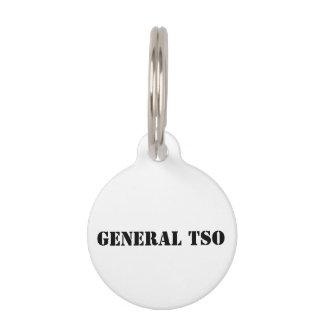Pet Tag - General Tso