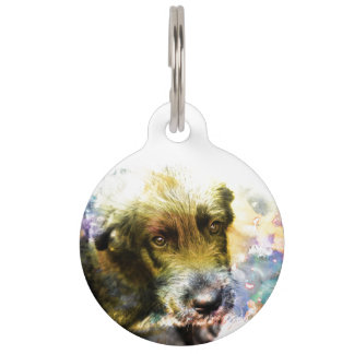 Pet Tag Irish Wolfhound 002