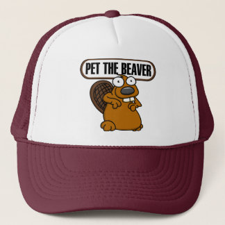 Pet The Beaver Hat