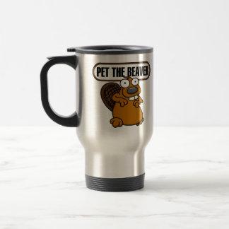 Pet The Beaver Mug
