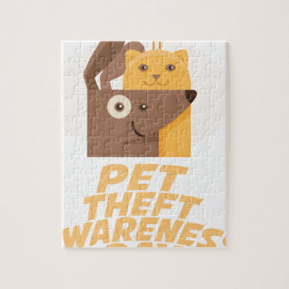 Pet Theft Awareness Day - 14th February Jigsaw Puzzle